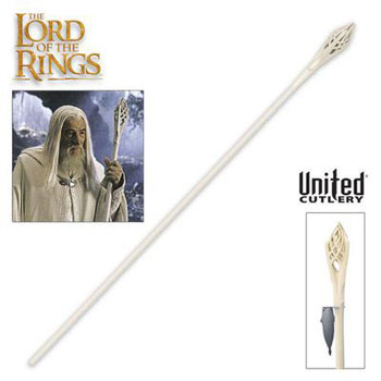 White Gandalf Staff