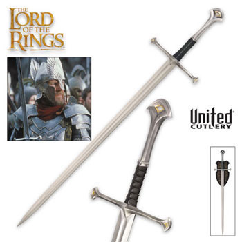 Narsil Swords From The Lord Of The Rings